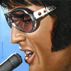 Arte Destacada - Elvis 24 1970 por Rob De Vries