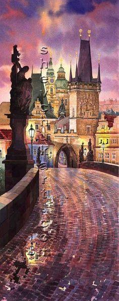 Prague 03 by Yuriy Shevchuk.