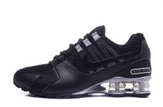 Mens Nike Shox NZ All Black Silver Athletic Running Shoes Trainers Order Shoes Online, Cheap Nike Shoes Online, Wholesale Nike Shoes, Nike Shoes For Sale, Nike Shoes Outlet, Cheap Shoes, Mens Nike Shox, Nike Shox Nz, Nike Men