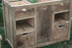 YOUR Custom Made Rustic Barn Wood Entertainment Center, Vanity or Cabinet