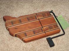 Creekside Wood Designs Cheese Cutter Board Solid wood - Quality! #CreeksideWoodDesigns