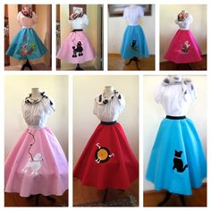 Hey, I found this really awesome Etsy listing at https://www.etsy.com/listing/181610520/made-to-order-poodle-skirt-in-various