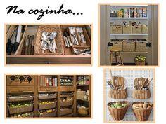 Organize com cestos