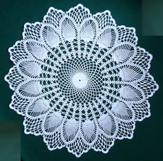 Ravelry: gmarox2's Cluster Pineapple Doily