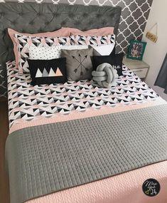 The Best 2019 Interior Design Trends - Interior Design Ideas Decor, Bed Decor, Dream Rooms, Bedroom Decor, Small Room Bedroom, Dream Decor, Girls Bedroom Makeover, Dorm Sweet Dorm, Home Decor