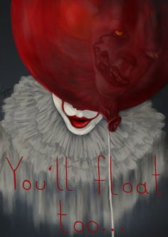 IT fanart by TheSaneIsCounting. Stephen King 2017, Pennywise the clown