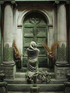 Staglieno Cemetery, Staglieno, Genoa, Province of Genoa , Liguria region Italy . Breathtaking sculpture, and a range of emotion.