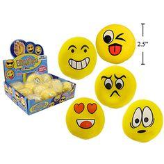 "Emoji Stress Ball 2.5"""