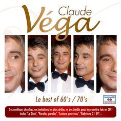 Claude Vega cd samling bedst af Claude Vega 2015