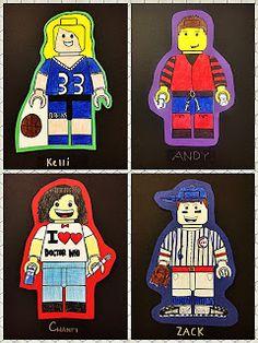 Mr. Leban's Art Classroom: LEGO Mini-Figure Avatars