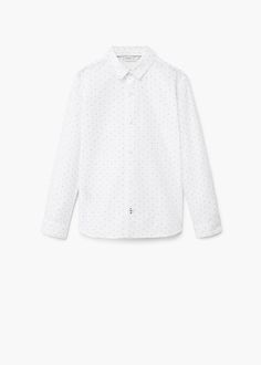 Camisa popelín | MANGO KIDS