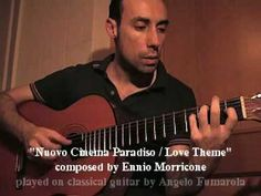 """Cinema Paradiso / Love Theme"" (Ennio Morricone) played on classical gui..."