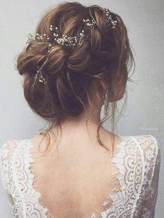 accessoires cheveux coiffure mariage chignon mariée bohème romantique retro, BIJOUX MARIAGE (112)