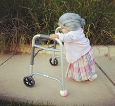 Little Old Lady Halloween Costume - this is the most adorable/hilarious thing ever!