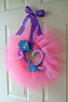 : ) Something for your christening day then keep it for her room, I would put an initial instead of a number :)