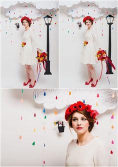 Inspiration rainbow - Robes de mariee La Promise x My Moon - Fleur de Sucre Photographie - LaFianceeduPanda.com