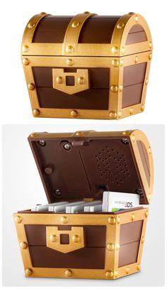 Zelda a link between worlds treasure chest DS game case