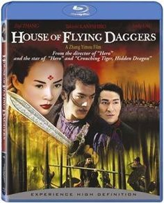 Following up his award-winning martial-arts drama HERO, director Zhang Yimou (JU DOU, RAISE THE RED LANTERN) tells an intricately detailed love story in the swordfighting epic HOUSE OF FLYING DAGGERS,