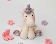 unicorn pony horse cake topper by Lucyscakesandtoppers.co.uk, via Flickr