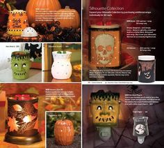 The 2013 Fall Scentsy Holiday warmers. Aren't these fantastic?!  www.amandawalsh.scentsy.us
