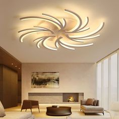 14 Miscellaneous warehouse of living room lamp ceiling - Living Room Bedroom, Modern Bedroom, Bedroom Lamps, Paint Cabinets White, Farmhouse Lamps, Modern Led Ceiling Lights, Ceiling Chandelier, Living Room Lighting, Kitchen Lighting
