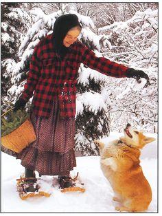 winter fun with Tasha