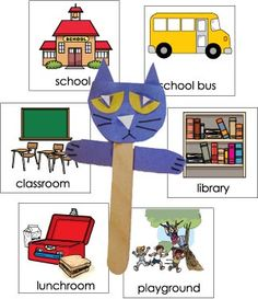 Story Time: Pete the Cat Rocking in My School Shoes | KidsSoup