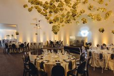 For the Blaffer Art Museum's annual gala in Houston in April, creative studio Matter designed a gilded meteor shower ceiling installation using NASA space blankets—an idea inspired by the event's space theme, as well as the metallic trends seen on recent fashion runways.