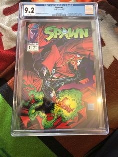 spawn 1 cgc image comics app spawn (Al Simmons) Todd Mcfarlane story art Spawn 1, Comic Books For Sale, Todd Mcfarlane, Image Comics, App, Apps