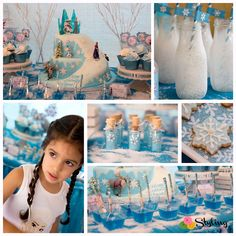 Frozen: Snowfall in Summer Frozen Party ideas