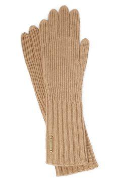 Burberry Cashmere Blend Touch Tech Knit Gloves, $195; nordstrom.com      - ELLE.com