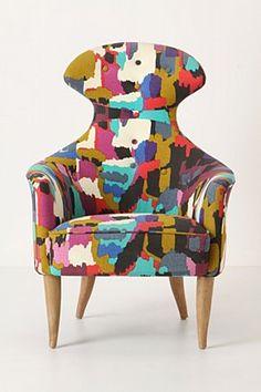 Charmant Soren Chair, Soleil Linen