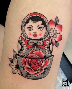 Matroyshka tattoo