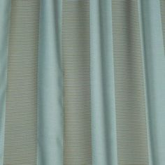 Blue striped drapery fabric - Habitat Nostalgia by Charles Parsons Interiors