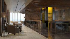 Гостиничный комплекс Marriott. lobby bar