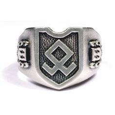 WW II German SS silver ring. CoffeeFEIND was here.