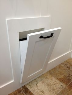 Love the idea of a laundry chute. Could be built into the door wall of the bathroom or put behind the door during the Laundry Room Projects that will Change Your LifeLove the idea of a laundry chute. Could be built into the door wall of Laundry Shoot, Laundry In Bathroom, Laundry Decor, Bathroom Closet, Basement Laundry Rooms, Laundry Closet, Laundry Chute, Laundry Basket, Laundry Room Design