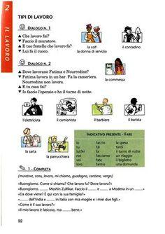 Parlo Italiano - Manuale pratico per stranieri Italian Language, French Language, Dual Language, German Language, Spanish Activities, Language Activities, French Lessons, Spanish Lessons, Teaching French