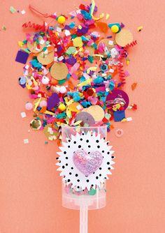 DIY confetti pop #party