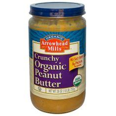 Crunchy Organic Peanut Butter, 26 oz (737 g) - http://goodvibeorganics.com/crunchy-organic-peanut-butter-26-oz-737-g/
