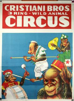 1950's circus | cristiani bros circus poster c late 1950 s original circus poster ... Remember  Kohler Company giving this to all the employees and their families!    We duplicated the Skinny Minny Machine for weeks after the show!