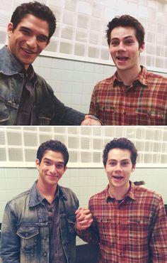 Obrosey on set! ❤