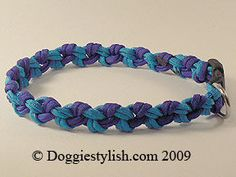 How To Make A Paracord Dog Collar Using The Seesaw Knot style