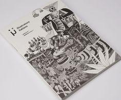 #Crush #Favini #magazine Illustratore Italiano / Filippo La Duca / Editore: MOM srls - Find more about #Crush http://www.favini.com/gs/en/fine-papers/crush/all-about-crush/