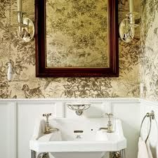 wallpapered bathrooms - Google Search