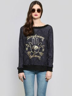 Daydream Believer Pullover - Tops - Clothes at Gypsy Warrior
