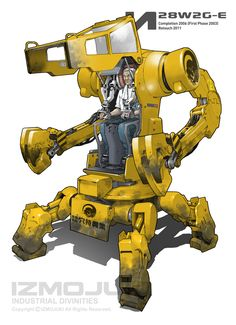 IZMOJUKI WORKS - IZMOJUKI Industrial Divinities Old Artworks ...