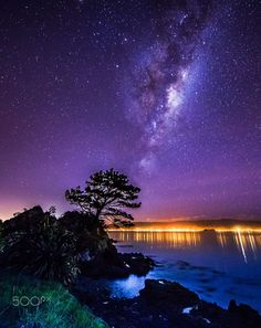 Wellington Winter Milky Way by Michael Jordanoff on 500px