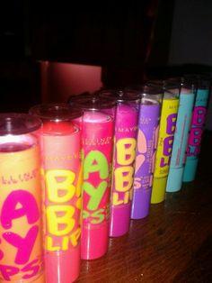 Baby lips<< MY FREAKING LIFE!