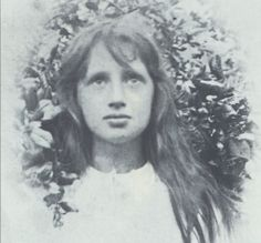 Virginia Woolf as a girl, unknown year